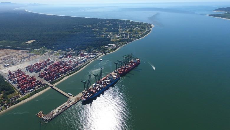 porto-itapoá-sc  (Foto: Divulgação)
