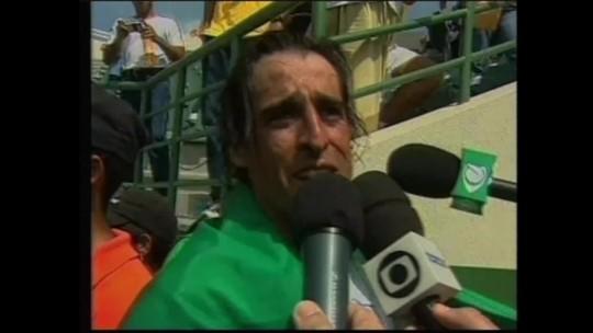 """Ouro em 2003, Meligeni celebra vaga da sobrinha no Pan: """"Torço para ela ser melhor do que eu"""""""