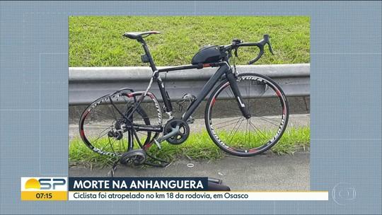 Ciclista morto treinava para competição quando foi atropelado na Anhanguera, em Osasco