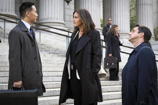 O ator BD Wong em cena de Law & Order: SVU (Foto: Reprodução)