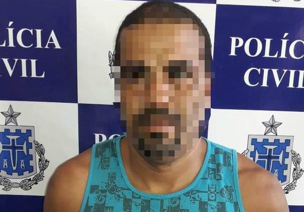 Suspeito foi preso na terça-feira — Foto: Divulgação/Polícia Civil
