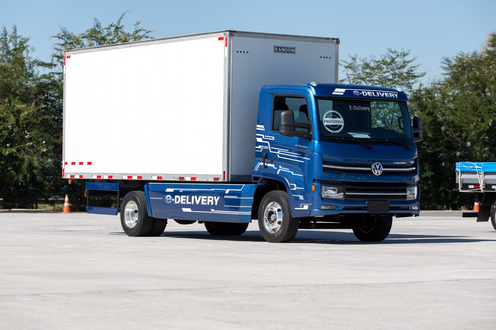 Volkswagen e-Delivery (Foto: Marcelo Brandt/G1)
