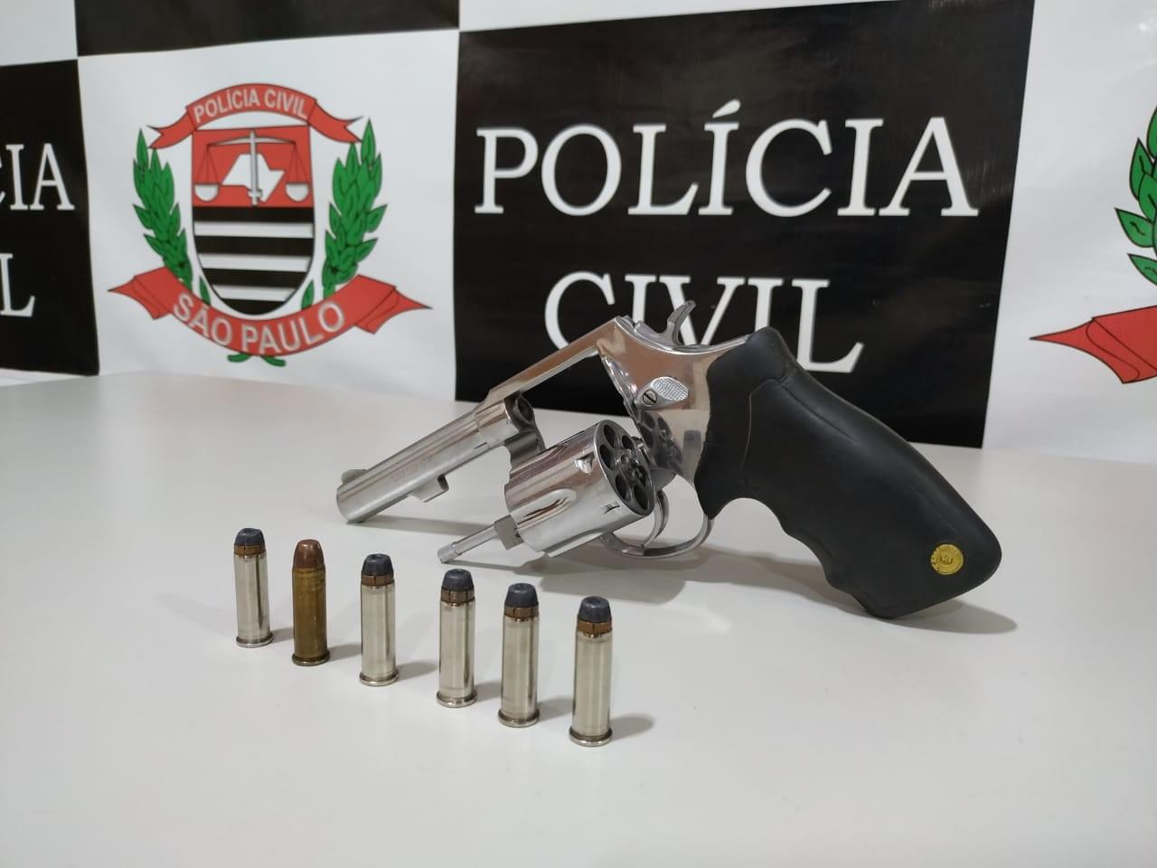 Arma de fogo roubada de empresa de segurança é apreendida pela DIG, em Presidente Prudente - Notícias - Plantão Diário