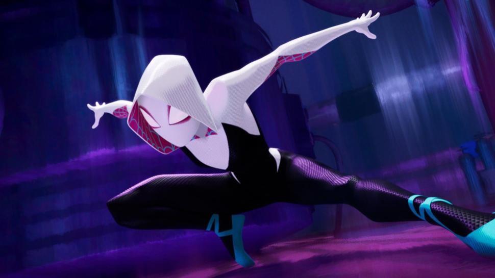 Spider Gwen em 'Homem-Aranha no Aranheverso' (Foto: Divulgação)