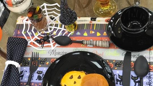 Hambúrguer de Halloween