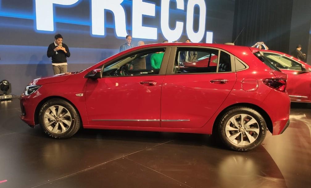 Novo Chevrolet Onix — Foto: Guilherme Fontana/G1