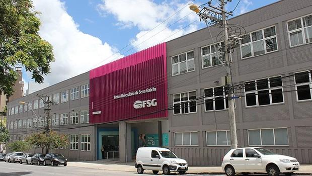 Fachada da Faculdade da Serra Gaúcha (FSG) (Foto: Divulgação/FSG)