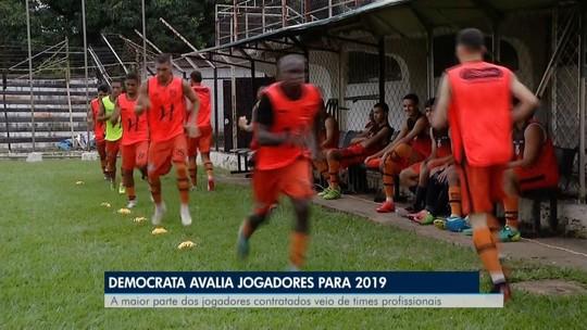 Democrata realiza seleção de atletas para o Módulo 2 do Mineiro em 2019