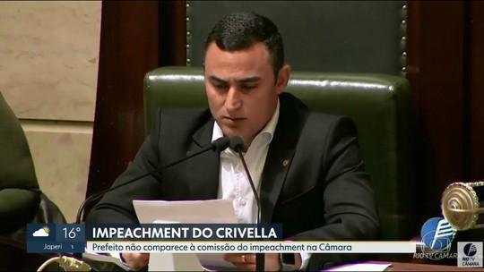 Marcelo Crivella não comparece à Comissão do Impeachment na Câmara dos Vereados