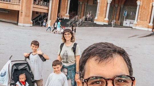Juliano Cazarré completa 40 anos e fala sobre sua primeira filha: 'Sonhávamos em ter uma menina'
