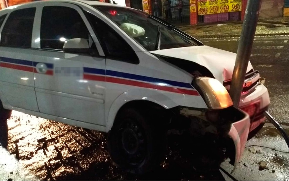 Dois travestis e um homem são presos após agredir e roubar taxista idoso na Bahia (Foto: Divulgação/Sindicato dos Taxistas)