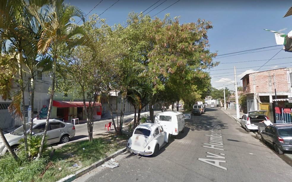 Avenida Humberto Gomes Maia, na Vila Brasilândia (Foto: Reprodução/Google StreetView)