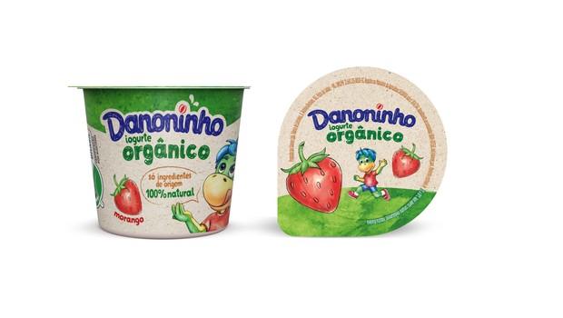 Danoninho Orgânico, produto criado nesta nova fase da Danone  (Foto: Divulgação )