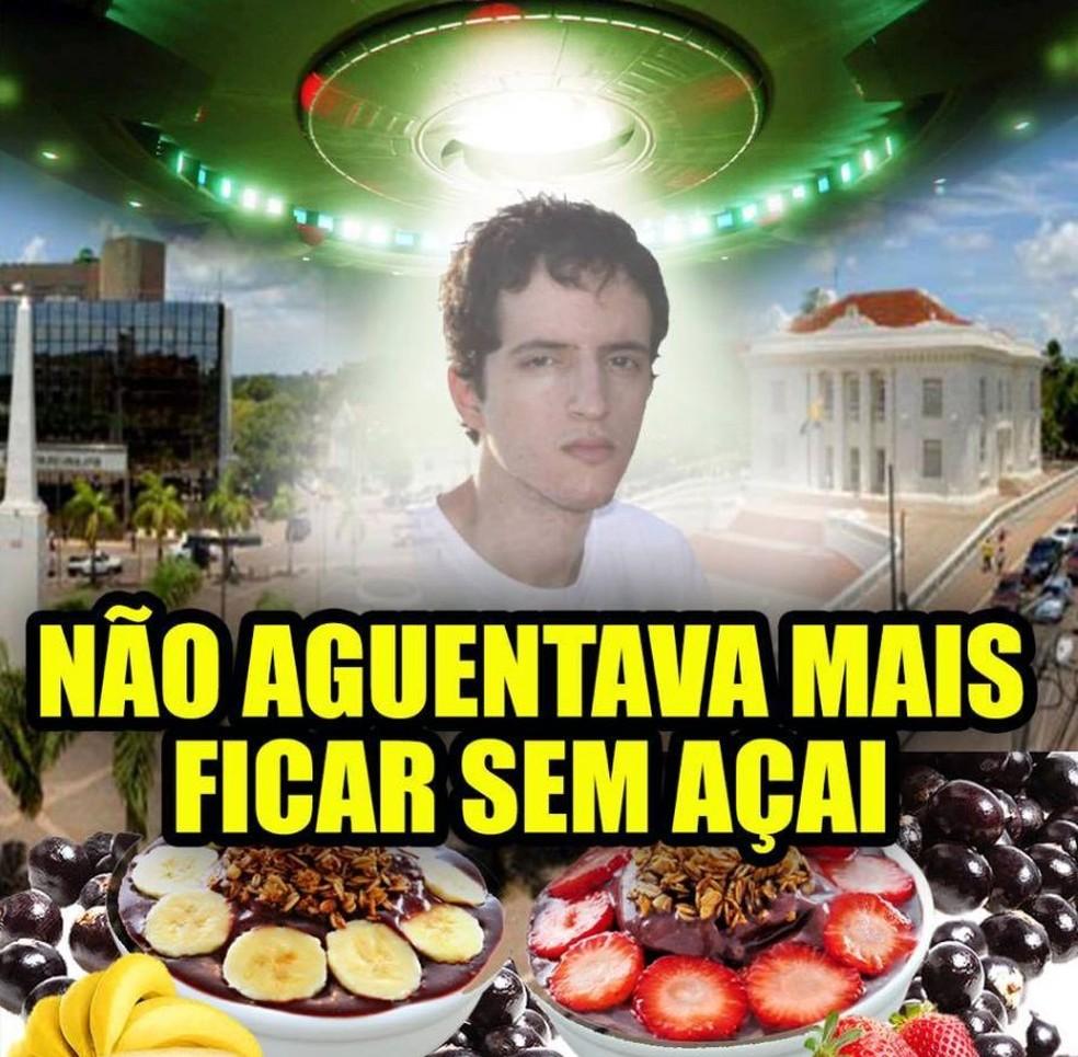 Memes tomaram conta da internet após aparecimento de Bruno  (Foto: Divulgação/Facebook )