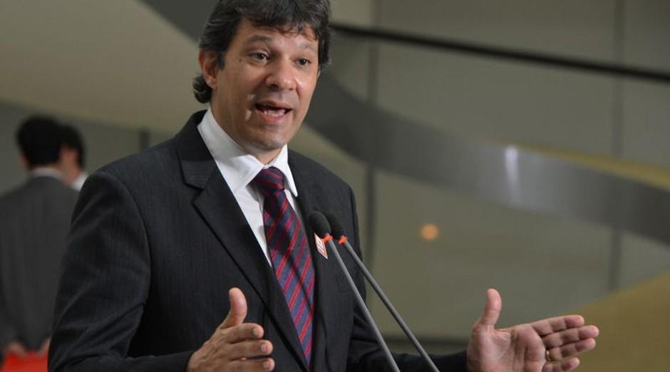Fernando Haddad, candidato do PT à Presidência da República (Foto: Reprodução/Agência Brasil)