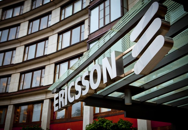 Sede da Empresa Ericsson em Estocolmo (Foto: Casper Hedberg/Bloomberg via Getty Images)