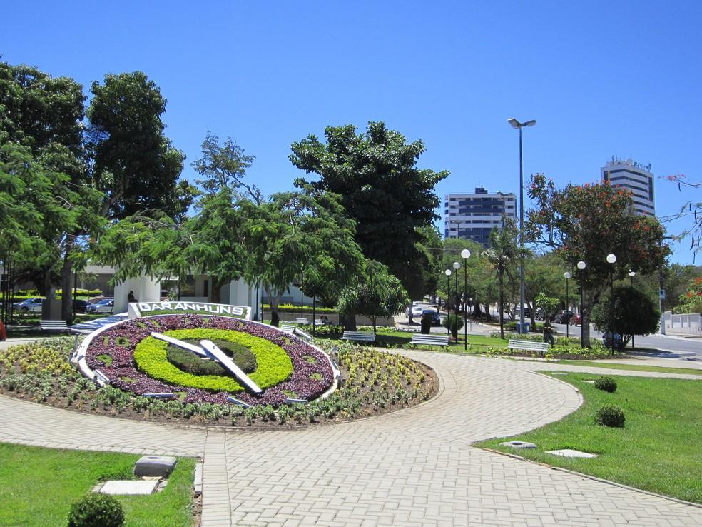 Relógio das Flores é um dos cartões-postais de Garanhuns — Foto: Divulgação/Prefeitura de Garanhuns