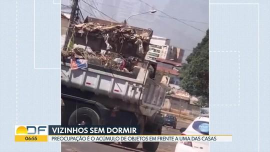 Casa no Guará II é motivo de preocupação para a vizinhança