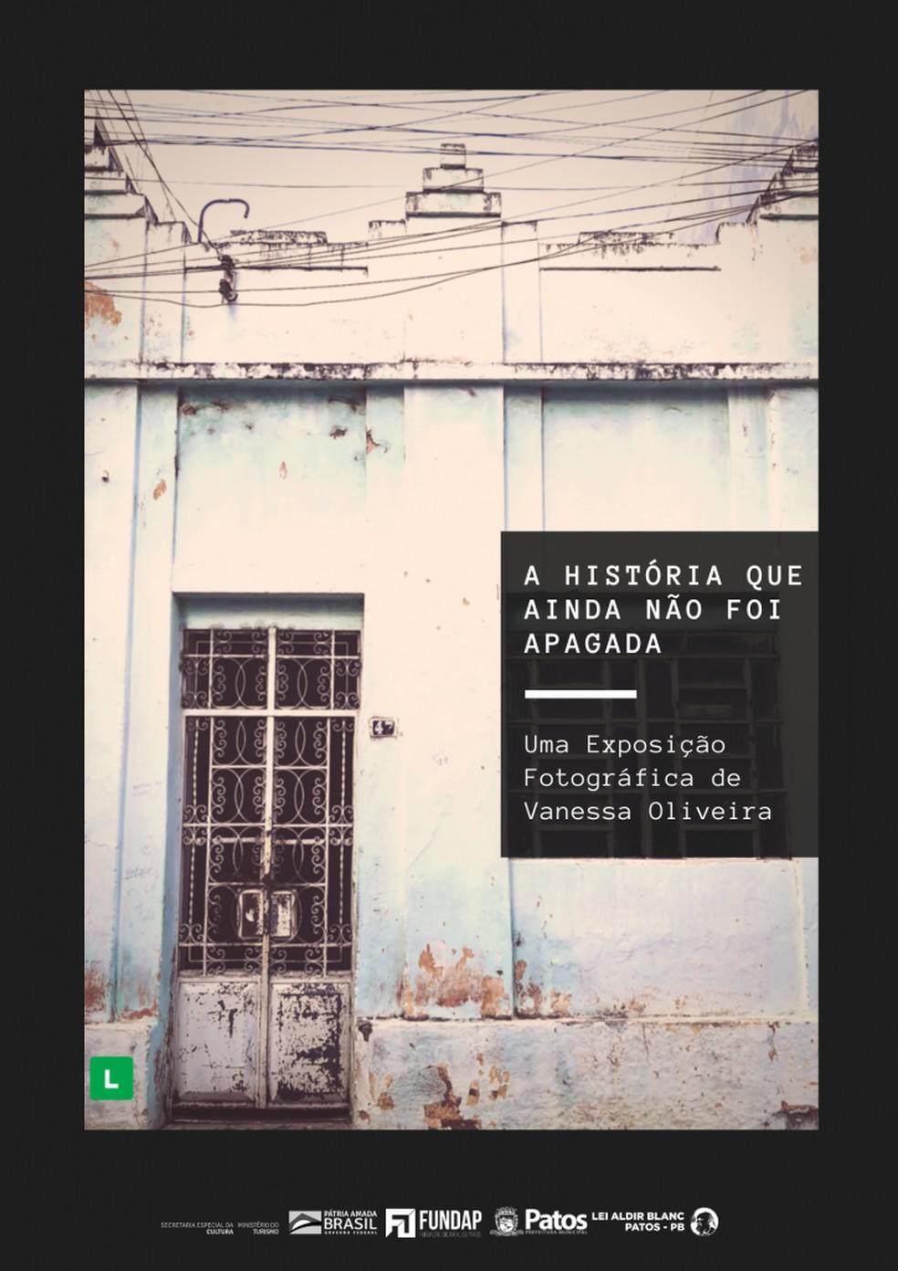 Exposição mostra prédios históricos de Patos, no Sertão da PB — Foto: Vanessa Oliveira/Divulgação