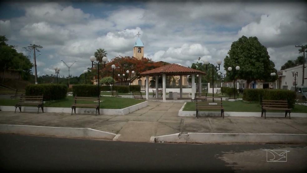Município de Nina Rodrigues no Maranhão, foi palco da revolta da Balaiada. (Foto: Reprodução/TV Mirante)