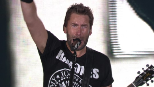 "Nickelback toca ""Photograph"" no Rock in Rio"