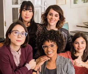 As protagonistas de 'As five', do Globoplay | Divulgação