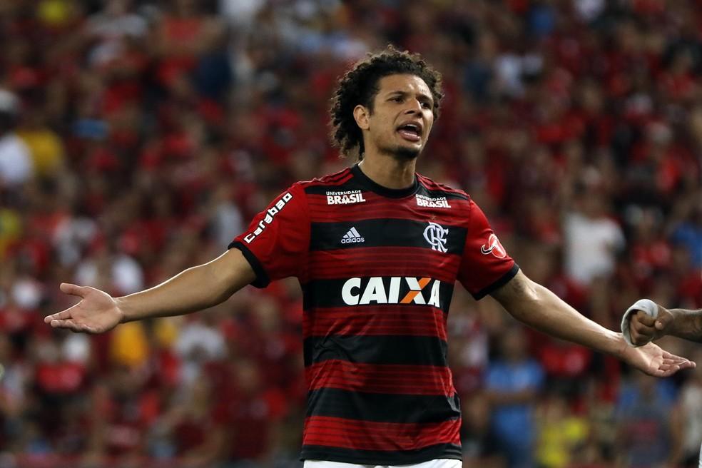 Arão está há três anos no Flamengo — Foto: LUCAS TAVARES/DIA ESPORTIVO/ESTADÃO CONTEÚDO