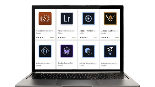 Foto: (Adobe libera seis apps de edição para Chromebooks (Foto: Montagem/Paulo Alves))