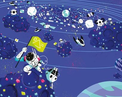 Com bilionários, corrida espacial inaugura nova era (e novos desafios)