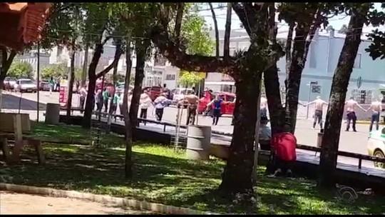 Laudo aponta que tiro que matou bancário em assalto em Ibiraiaras partiu de arma de PM