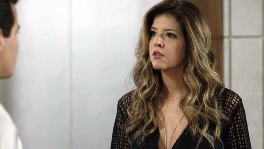 Teaser: Maria Pia e Júlio trocam farpas na empresa de Eric
