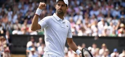 Djokovic está em sua sexta decisão em Wimbledon
