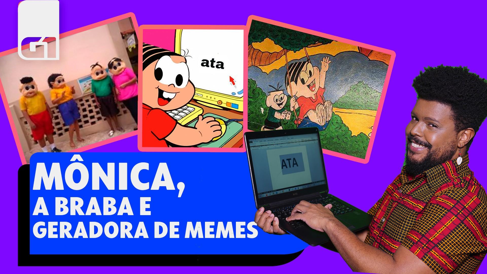 Que meme é esse: Mônica, a geradora de piadas na internet