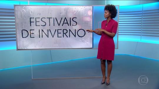 Maria Júlia Coutinho mostra como fica o tempo no fim de semana