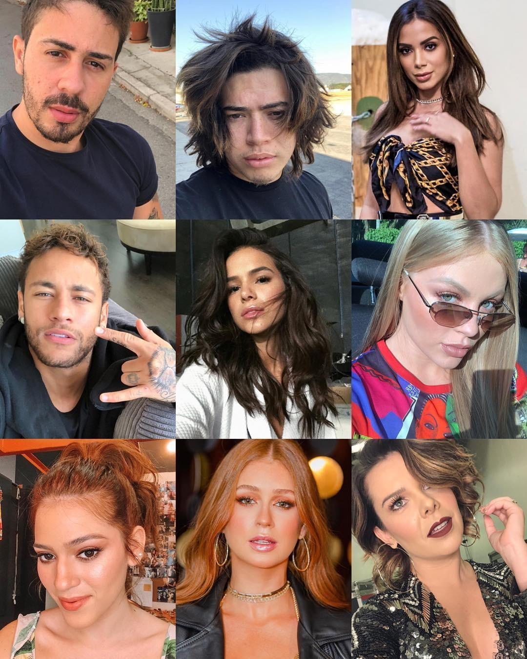 Brasileiros mais influentes no Instagram (Foto: Reprodução/Instagram)