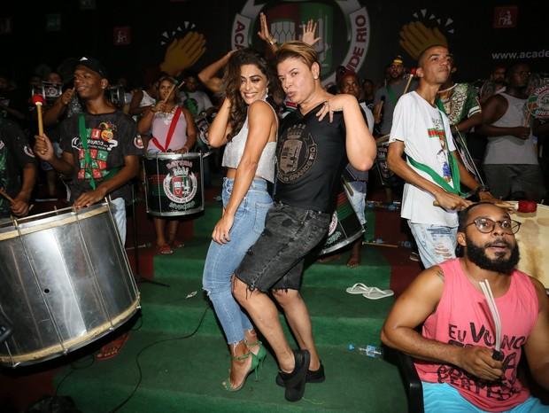 Juliana Paes e David Brazil (Foto: Rodrigo dos ANjos/AgNews)