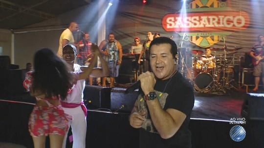 Volta no tempo: Beto Barbosa volta a Salvador para show no bairro de Nazaré