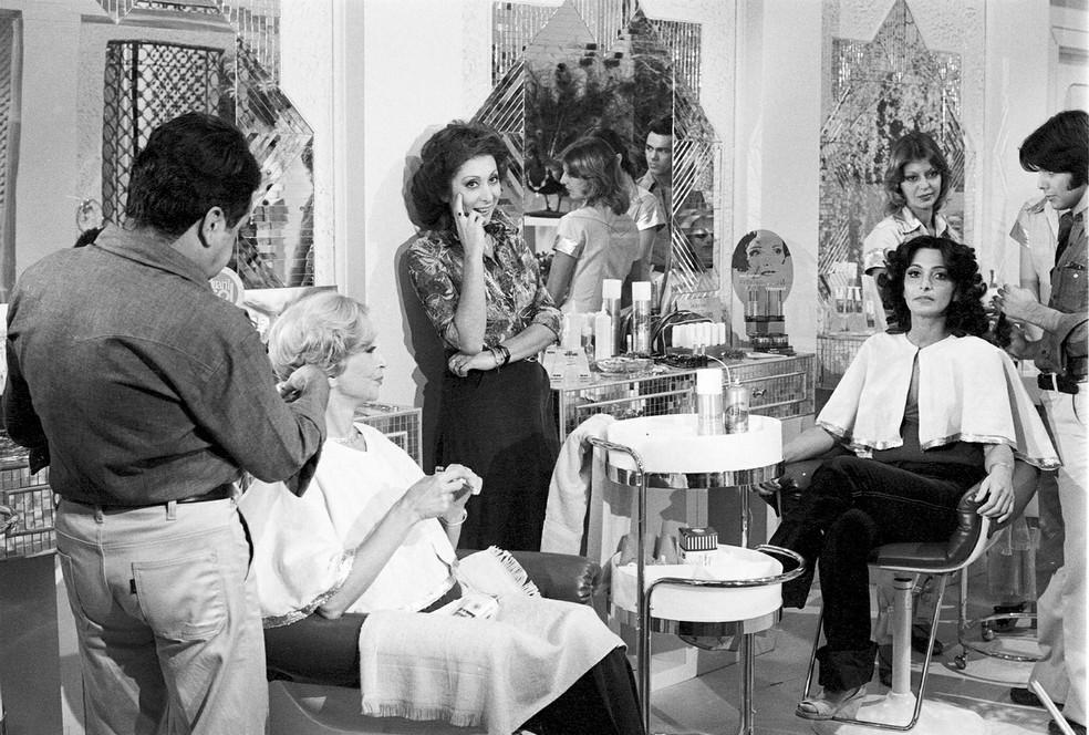 Lady Francisco e elenco de 'Locomotivas' — Foto: TV Globo