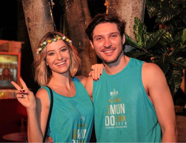 Bárbara França e o namorado, Maurício Pitanga (Foto: Sercio Freitas)