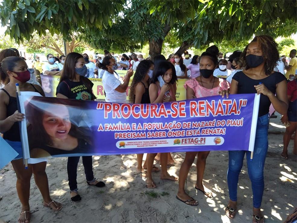 Jovem segue desaparecida há dois meses — Foto: Divulgação/Arquivo Pessoal