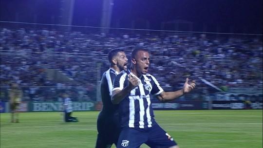 Análise: Ceará investe na marcação e velocidade e tática funciona contra o Sport