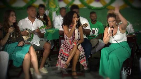 Artistas fazem roda de samba para homenagear Dona Ivone Lara
