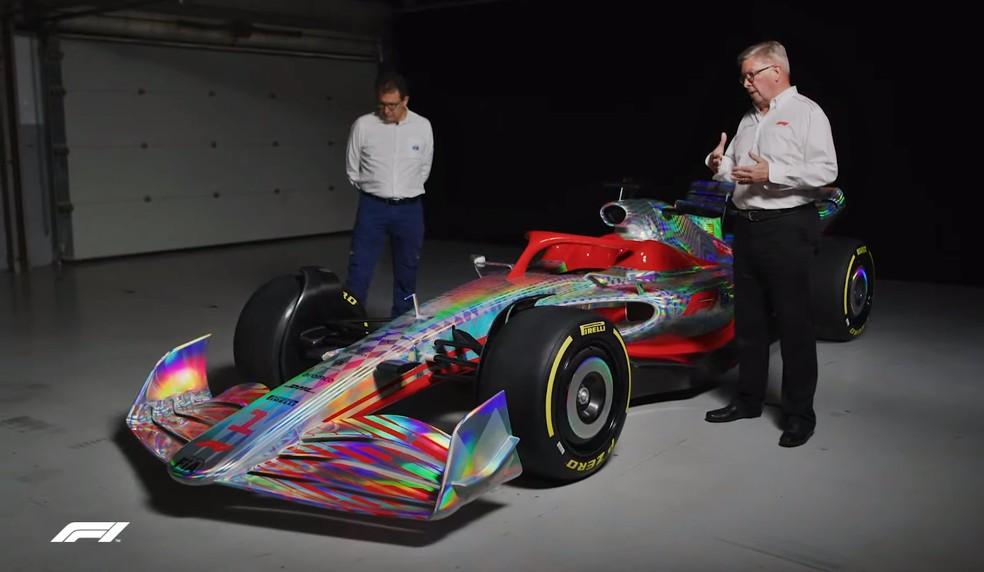 Carro-conceito será a base dos modelos na temporada de 2022 — Foto: Reprodução