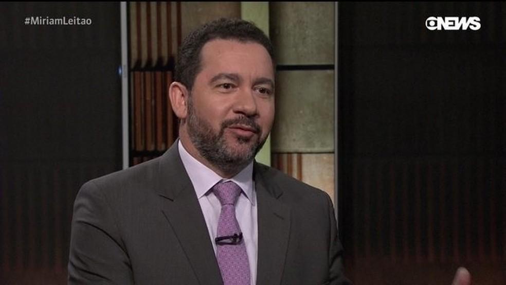 Dyogo Oliveira, presidente do BNDES, em imagem de arquivo. — Foto: GloboNews