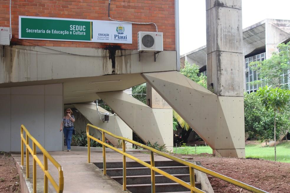 Secretaria de Educação do Piauí — Foto: Gustavo Almeida/G1