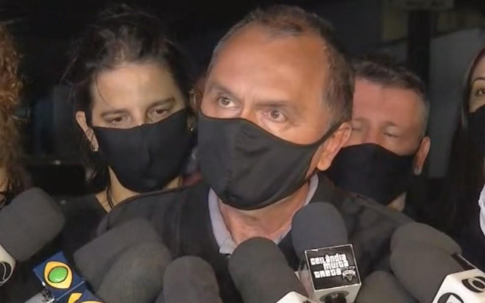 Força-tarefa que procura Lázaro Barbosa tem dois presos por facilitar fuga e encontra esconderijo, diz secretário  — Foto: Reprodução/TV Anhanguera