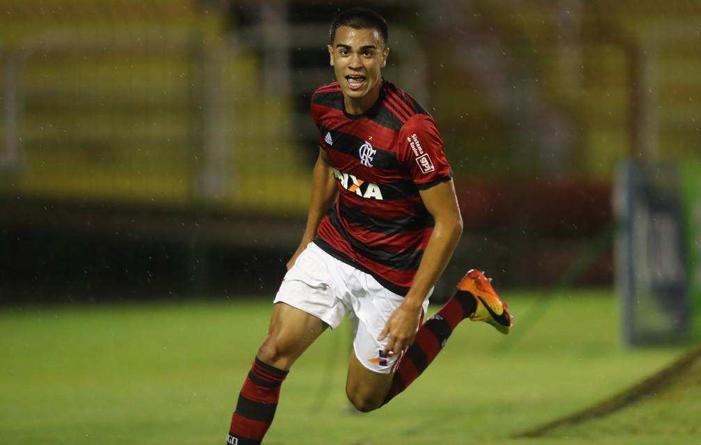 Reinier Flamengo sub-20 — Foto: Gilvan de Souza/Flamengo