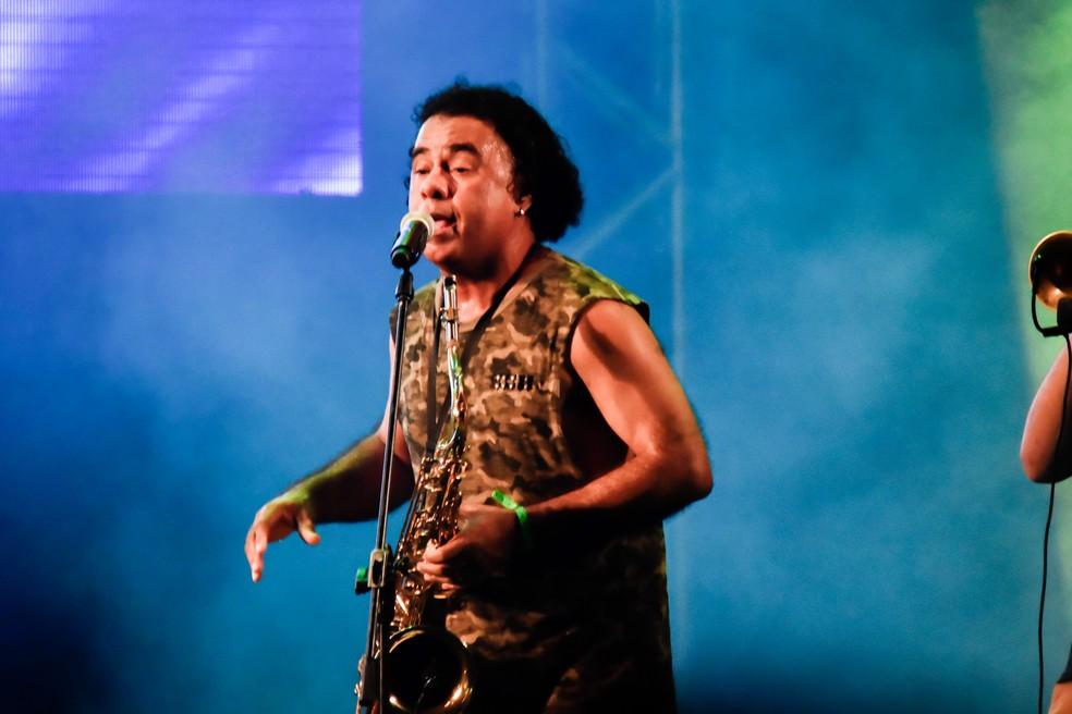 Alphorria se apresentou na segunda noite do Mada 2018 — Foto: Pedro Vitorino