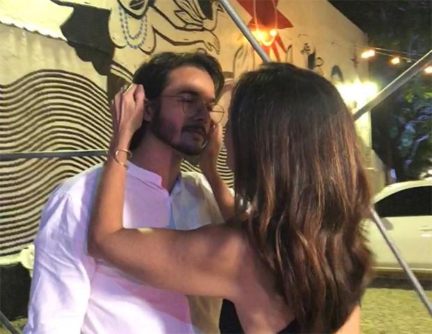 Fátima Bernardes e Túlio Gadelha (Foto: Instagram)