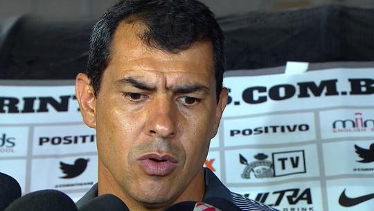 """Carille deve manter esquema tático do Corinthians em Dérbi: """"Jogo grande"""""""